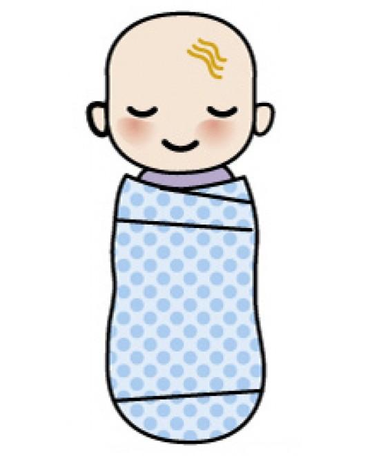 Пелёнка-матрёшка «Куколка» 54см