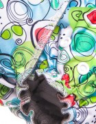 Многоразовый подгузник GlorYes! Угольный бамбук