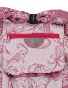 Слинг-рюкзак «Ренессанс» бордовый