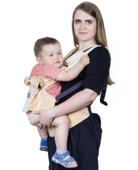 Слинг-рюкзак «Ренессанс» шафран