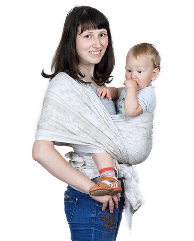 Слинг-шарф «Герба» серый