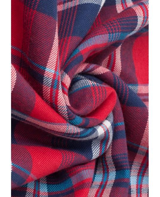 Слинг шарф «Тартан» красный