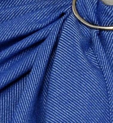 Слинг с кольцами «Уют» синий меланж