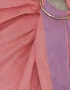 Слинг с кольцами «Лён комби» розовый