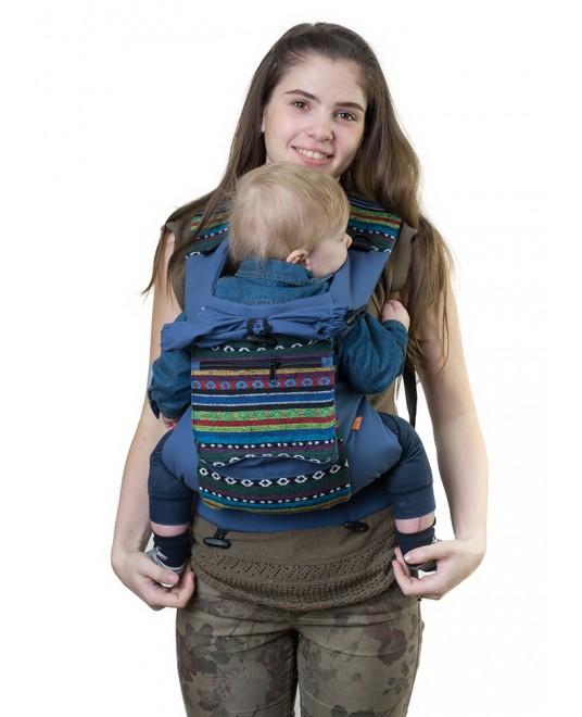 Слинг-рюкзак «Уичоли» индиго
