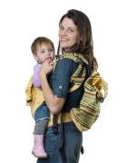 Слинг-рюкзак «Уичоли» светло-жёлтый