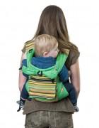 Слинг-рюкзак «Уичоли» зелёный