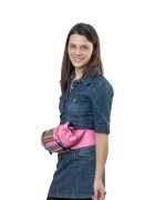 Слинг-рюкзак «Уичоли» розовый