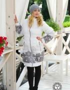 Зимняя слингокуртка 3 в 1 Diva Outerwear Bianco
