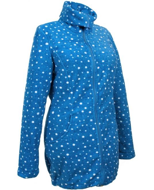 Слингокуртка и куртка для беременных флисовая «Мама Плюс» - млечный путь