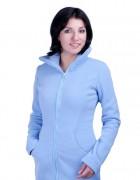 Флисовая слингокуртка 3в1 - голубая