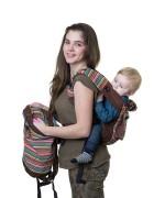Сумка-рюкзак для мамы «Уичоли» шоколадный