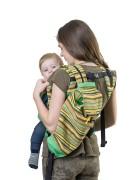 Сумка-рюкзак для мамы «Уичоли» зеленый
