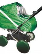 Дождевик для коляски-люльки тканевый