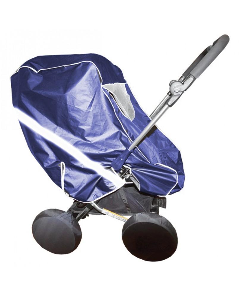 Дождевик для коляски-трансформера тканевый