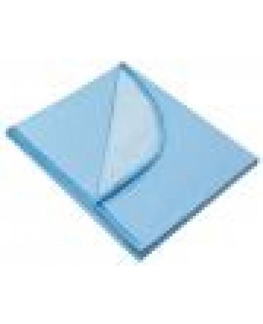 Клеенка подкладная детская с ПВХ покрытием с окантовкой с резинками-держателями, цветная