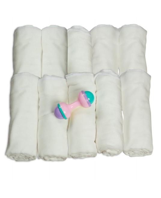 Многоразовый подгузник-пеленка марлевый