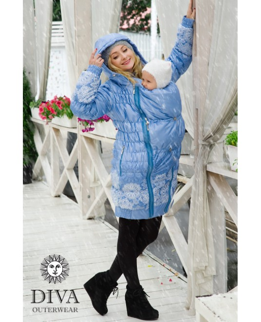 Зимняя слингокуртка 3 в 1 Diva Outerwear Celeste
