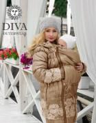 Зимняя слингокуртка 3 в 1 Diva Outerwear Moka