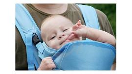 Рюкзак-кенгуру: с какого возраста можно носить в нем ребенка